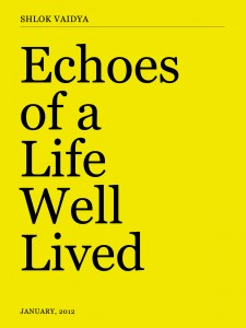 Cover 225x300 Echoes of a Life Well Lived